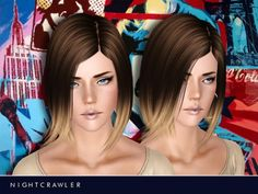 Hair 01 by Nightcrawler Sims at The Sims Resource - Sims 3 Finds