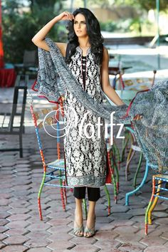 #motifzembroideredlawn #lawn #motifzlawn #motifz #brandedlawn MWU00995-999-BLACK Item Type: UN Stitched Three Piece, Shirt Fabric: Lawn, Includes: Front, Back, Sleeves, Crinkle Digital Printed Dupatta, Pure Cotton Trouser Retail Price: 5,890