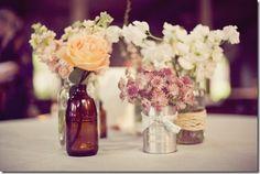 Wedding+Centerpieces+On+a+Budget | Wedding Centerpieces on a Budget