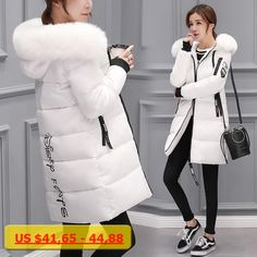 326b36b775d CHANGYUGE 2017 New Winter Jacket Female Parka Coat Feminina Long Down  Jacket Plus Size Long Hooded