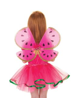 Watermelon Skirt and Wings  Price $29.99  http://efairies.com/watermelon-skirt-and-wings/