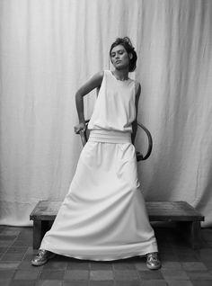 """Gabrielle"" - Marque: Rhum Raisins by Victoire Vermeulen - Photograph: Joseph Chiaramonte - Model: Nadine"