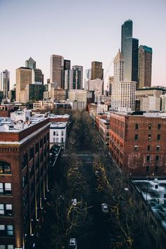 seattlestroll: Seattle from our rooftop! - S E A T T L E Washington State Travel Destinations Honeymoon Backpack Backpacking Vacation Budget Off the Beaten Path Wanderlust Seattle Photography, City Photography, Seattle Washington, Washington State, Seattle Travel Guide, Seattle City, City Aesthetic, Adventure Aesthetic, Dream City