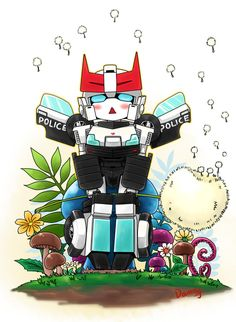 Prowl and mushroom by XXX023 on DeviantArt