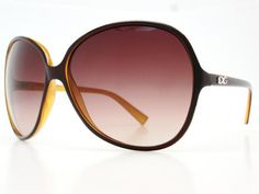 Womens oversized sunglasses O025 L Brown