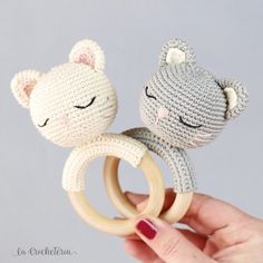 2019 All Best Amigurumi Crochet Patterns Crochet Baby Toys, Crochet Amigurumi Free Patterns, Baby Knitting, Amigurumi Tutorial, Crochet Rabbit, Newborn Toys, Baby Rattle, Stuffed Animal Patterns, Love Crochet