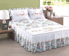 Colcha Designer Bed Sheets, Camas King, Bed Sheet Sets, Sofa Covers, Dream Bedroom, Bed Spreads, Home Textile, Bedding Sets, Bed Pillows