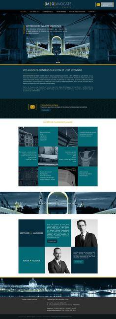 Webdesign - Avocats - Agence Sirocco Communication Lyon ©
