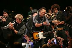 """""""That you just won..."""" Bruce Springsteen and the E Street Band. High Hopes tour. April 15 2014's show in Columbus - OH"""