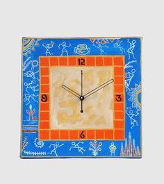 Designer #Wooden Wall #Clock  #craftshopsindia #homedecor