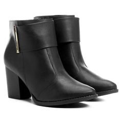 Compre Bota Beira Rio Salto Grosso Metal Preto na Zattini a nova loja de moda online da Netshoes. Encontre Sapatos, Sandálias, Bolsas e Acessórios. Clique e Confira!