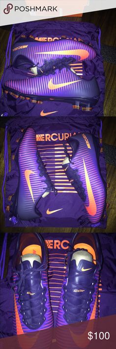 Nike mercurial vapor xi fg soccer cleats Brand new , comes with the bag and 100%authentic. Nike Shoes Athletic Shoes