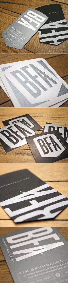 BFA business card ideas.