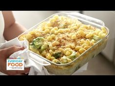 Mac and Cheese Recipe - Lighter Three-Cheese Mac - Everyday Food with Sarah Carey