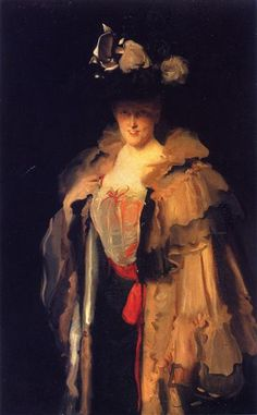 Mrs. Charles Hunter (Mary Smyth), 1898 by John Singer Sargent. Realism. portrait. Tate Britain, London, UK