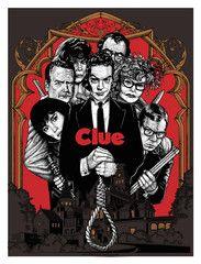 "T-bone & Aljax ""Nouveau Riche Oblige"" Print of the Movie, Clue"