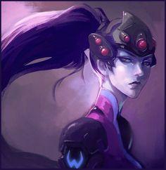 Overwatch - Widowmaker by Sione Salesa https://www.facebook.com/ne0shin