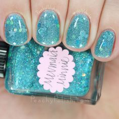 Lynnderella Mondays!: Mermaid Minnie, Blazink, Emerald Fluorite, Lucky And Charming & G. Whizard Esq. Swatches & Review