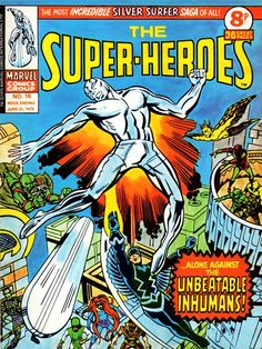 Part Four Of Marvel'S The Super-Heroes Cover & Image Gallery...