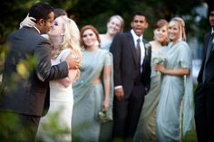 Laura Ashbrook Photography Washington DC Christian Indian Muslim Elegant Wedding Kiss 550x366 Elegant Indian Fusion Fall Wedding in Maryland: Kate + Sajid