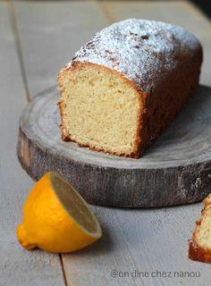 Cake végétalien au citron bergamote