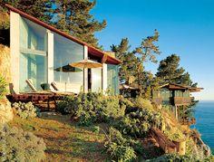 Дом на скале в Калифорнии | AD Magazine