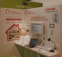 L'équipe Pluzzy fait la démonstration de sa solution Smart Home à Batimat - http://www.pluzzy.com