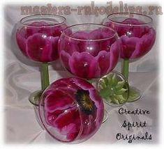 Painted wine glasses one stroke in 2 minutes. ~~~ Art paintings | Entries in category Art painting | Blog fljuida: LiveInternet - Russian Service Online Diaries