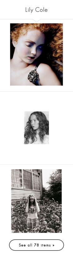 """""""Lily Cole"""" by erintheartbtch ❤ liked on Polyvore featuring lily cole, models, pictures, people, celebrities, photos, merida, backgrounds, image and images"""