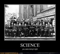 Science. They did it right.