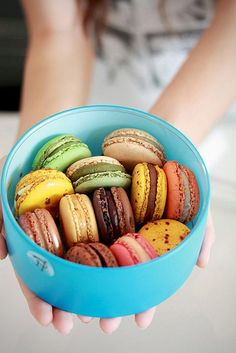 This sweet tooth was in macaron heaven in Paris