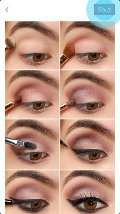Steps for Violet Eye Look!