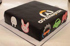Overwatch birthday cake - Imgur