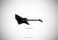 """Famous Guitars Mauro 04a """"Famous Guitars"""" – Illustrations by Federico Mauro"""