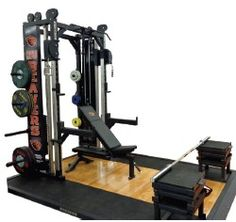 hammer strength ultimate rack  custom configuration