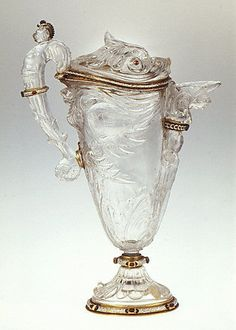 Ewer  of cover, foot and mounts: Alfred André (1839–1919)
