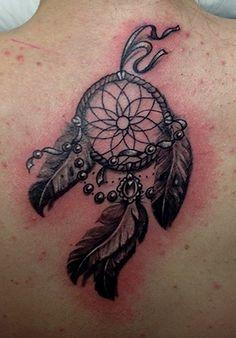 Acchiappasogni tattoo schiena.