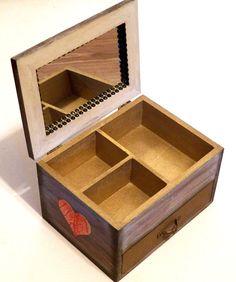 Joyero con Espejo Caja de Espejo Joyero Tocador por Personalizedbox