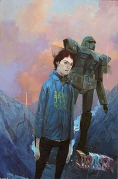 Another Andrew Hem favorite of mine. Love the palette and the characters.