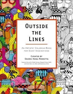 Outside the Lines; coloring book