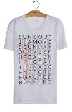 Osklen - T-SHIRT ROUGH SUNDOKU MC - t-shirts - men