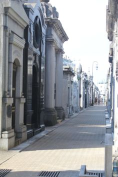 A Taste of Buenos Aires | The JustinKays Chronicles: Stroll through the infamous Recoleta Cemetery<< This would be so creepy but cool to walk through.