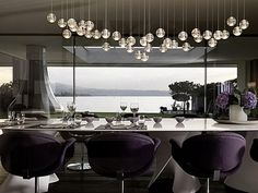 Posh dining room des