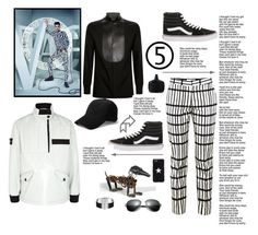 """""""Swag"""" by stonesherry ❤ liked on Polyvore featuring Alexander McQueen, Givenchy, STONE ISLAND, Apiece Apart, Vans, John Varvatos, men's fashion and menswear"""