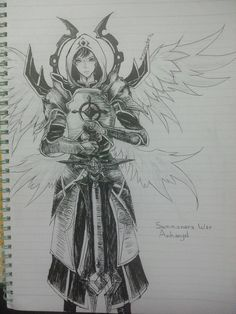 Summoners War-Archangel by hystericallyomelette.deviantart.com on @DeviantArt