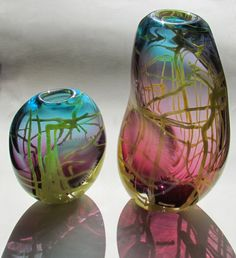 Theo Brooks - Glass Vases http://www.theobrooksdesigns.co.uk/