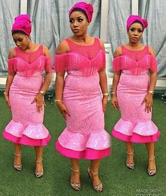 The weekend was lit! And yes we are back with another series of wedding guests/Aso-Ebi gorgeousness. Style trends are unending as wedding guests keep strutting event runway looking stylish and… Ankara Styles For Men, Latest Ankara Styles, African Fashion, Ankara Fashion, African Style, African Beauty, Aso Ebi Dresses, Nigerian Bride, Types Of Lace