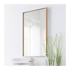 Miroir 50X80 _ 30€ - IKEA plaqué hetre, peint blanc