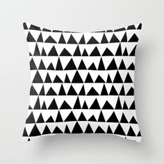 Buy Playful triangles Throw Pillow by Cecilia Andersson. Worldwide shipping available at Society6.com. Just one of millions of high quality products available.