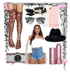 """""""fotou"""" by selmi-554 ❤ liked on Polyvore featuring Somedays Lovin, Chloe + Isabel, Ray-Ban, Leica, Richmond & Finch and Gucci"""